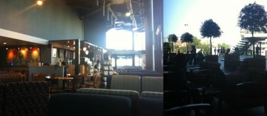 My favorite Starbucks in Cluj-Napoca, Romania<br />(actually, it was the <em>only</em> one in Cluj)