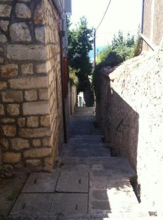 "Just a few of the 500(!!!) steps down to Old Town.<br />Of course, down is not nearly so hard as ""back up""."